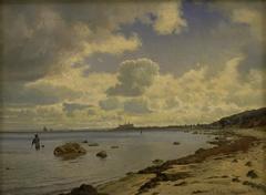 Sjællands nordkyst med udsigt til Kronborg
