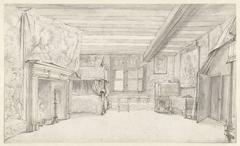 Slaapkamer van Prins Maurits