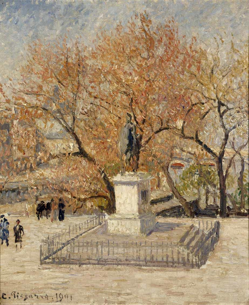 Statue of Henri-IV, Early Spring (First Series)