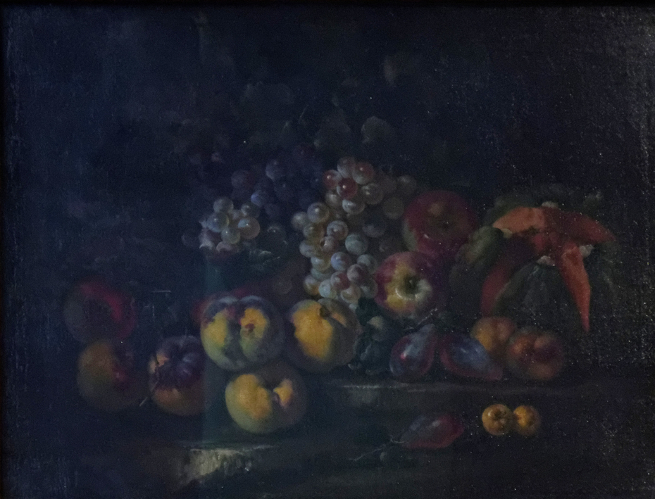 Still-Life with Grapes and Apples