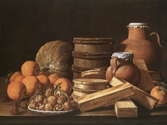 Still Life with Oranges and Walnuts