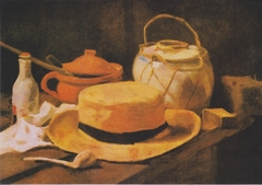 Still Life with Yellow Straw Hat