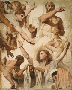 Studies for The Martyrdom of Saint Symphorien (Saint, Mother, and Proconsul)