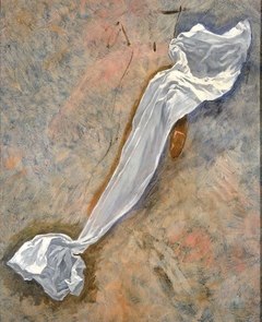 "Study for Drapery of ""Pursuit of the Ideal"""