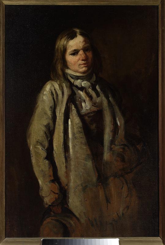 Study of a village boy