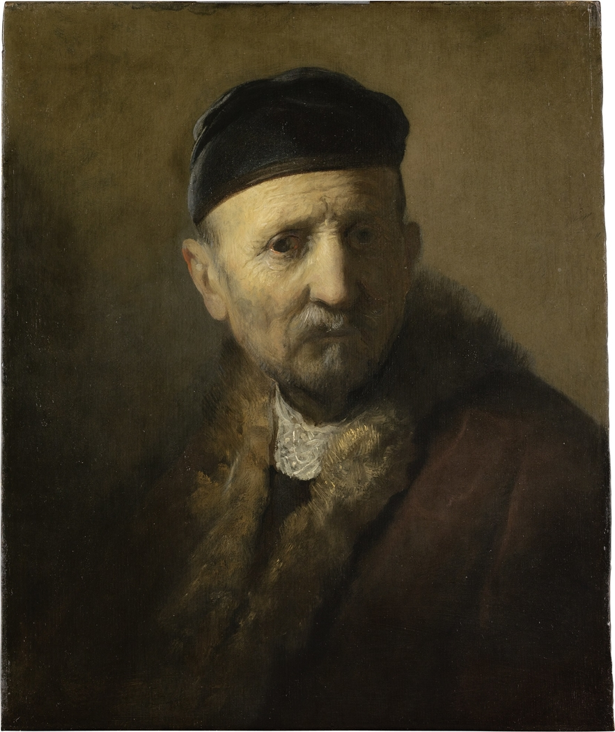 Study of an old man (Rembrandt's father)