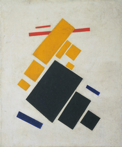 Suprematist Composition: Airplane Flying