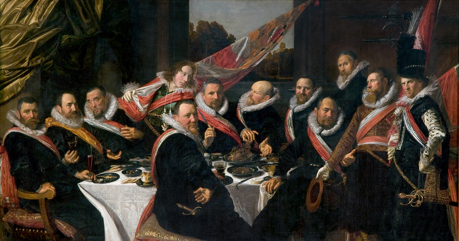 The Banquet of the Officers of the St George Militia Company in 1616