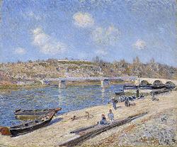 The Beach at Saint-Mammès