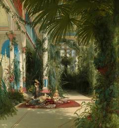 The Interior of the Palm House on the Pfaueninsel Near Potsdam