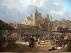 The Old Fish Market in Antwerp