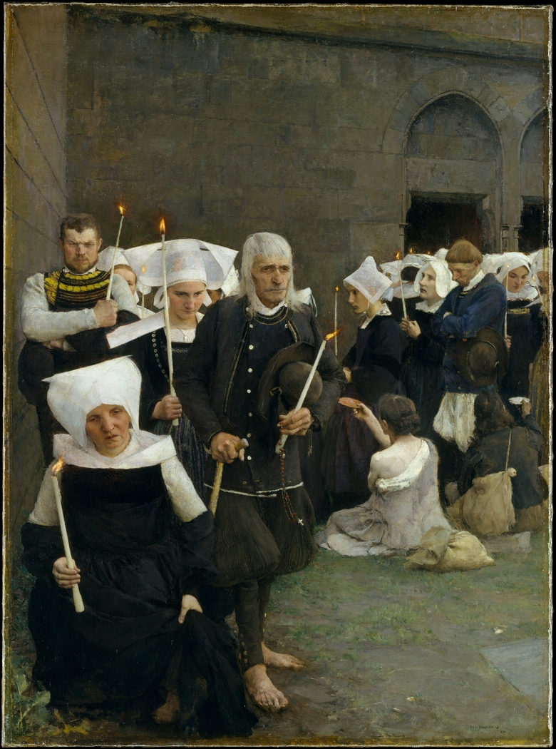 The Pardon in Brittany