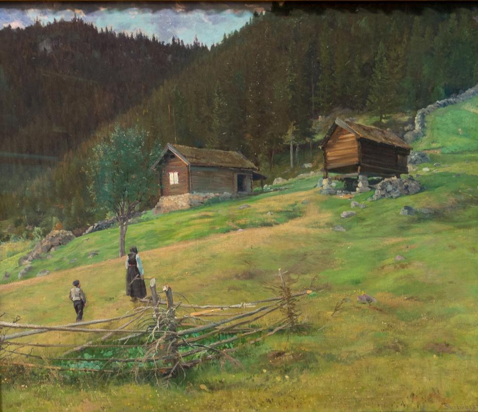 The Poet Vinje's Home Plassen in Telemark