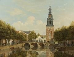 The Torensluis and the Jan Roodenpoortstoren in Amsterdam
