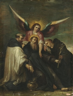 Tod des hl. Benedikt (zugeschrieben)