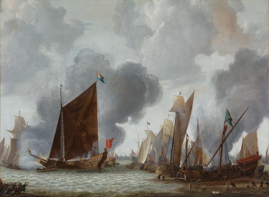 De Slag op het Slaak, 1633, middenstuk