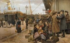 Emigrants at Larsens Square