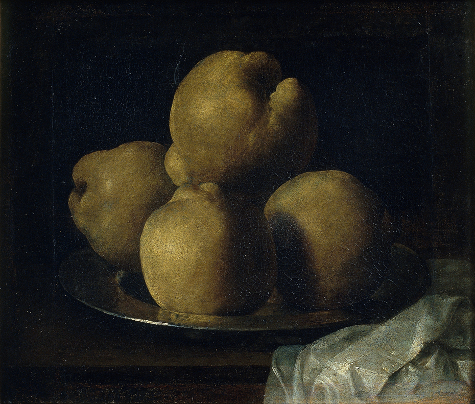 Still Life with Dish of Quince