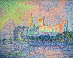 Paul Signac, The Papal Palace, Avignon