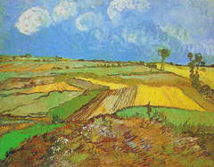 Wheat Fields after the Rain (The Plain of Auvers)