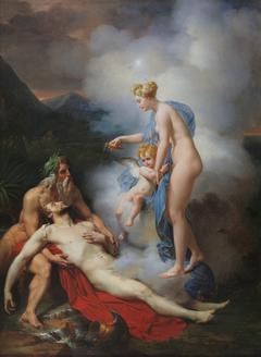 Venus heals Eneas