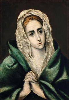 Verge Maria-Mater Dolorosa (El Greco, Tipus-II)