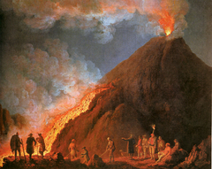 Vesuvius Eruption in 1774