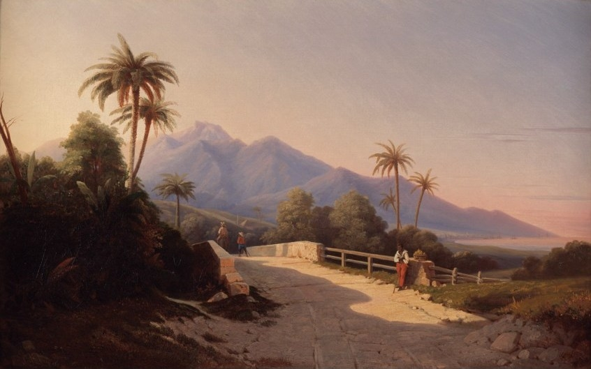View of Basse-terre, Guadeloupe