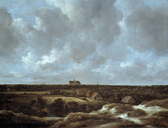 View of Haarlem from the South with Bleaching fields