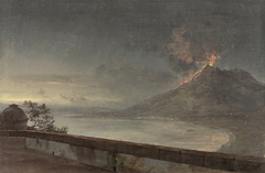 View of Vesuvius from Villa Quisisana
