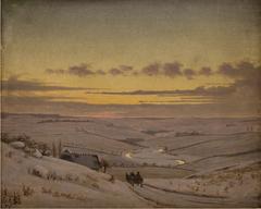 Vinteraften ved Susåen