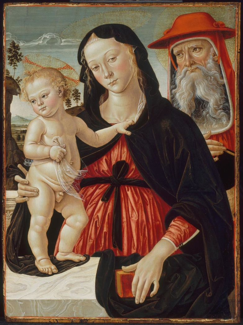 Virgin and Child with Saint Jerome