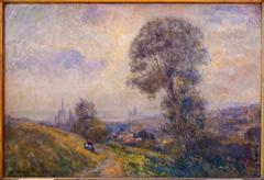 Vue de Rouen depuis le mont Gargan