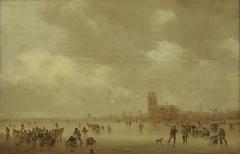 Winterlandscape near Dordrecht