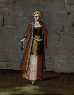 Woman from the Island of Tinos