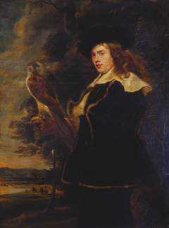 Young Man with a Falcon