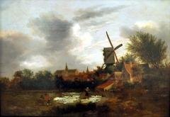 A Bleachery near Haarlem