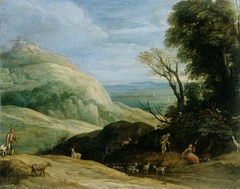 A Landscape with Goatherds
