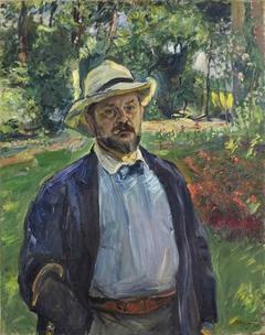 A Self-Portrait in the Garden at Godramstein