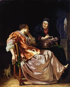 A Woman and a Procuress (Bathsheba)