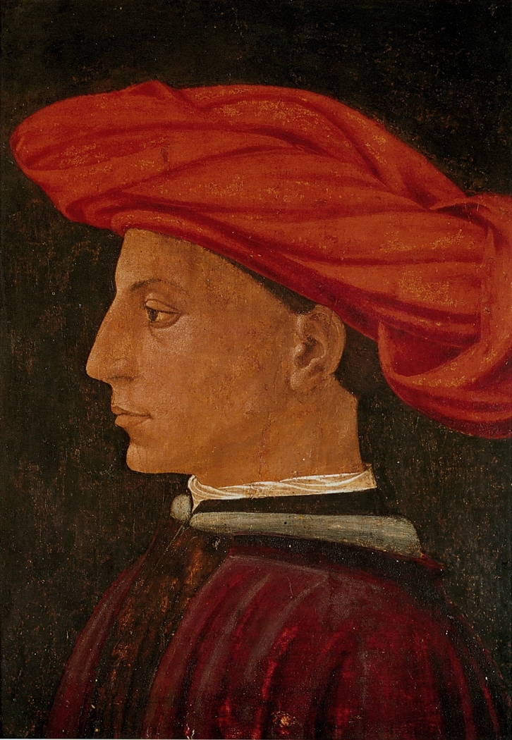 A Young Man in a scarlet turban