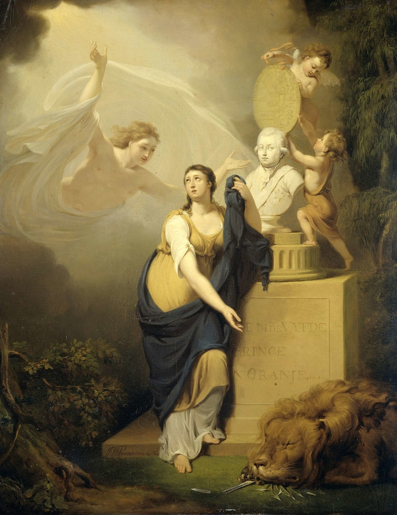 Allegory of the Death of William V, Prince of Orange, 1806
