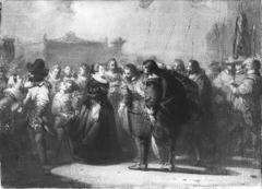 Anno 1638. Maria de 'Medici wordt te Amsterdam ontvangen