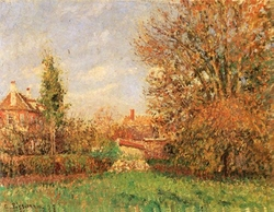 Autumn in the Meadow at Éragny