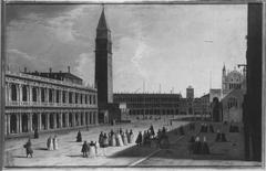 Blick über die Piazzetta gegen den Markusplatz (Nachahmer)