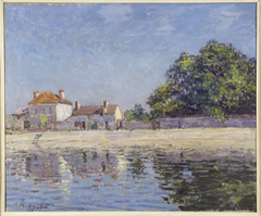 Bords du Loing, Saint-Mammes (The River Loing at Saint-Mammes)