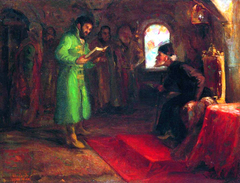 Boris Godunov and Ivan the Terrible