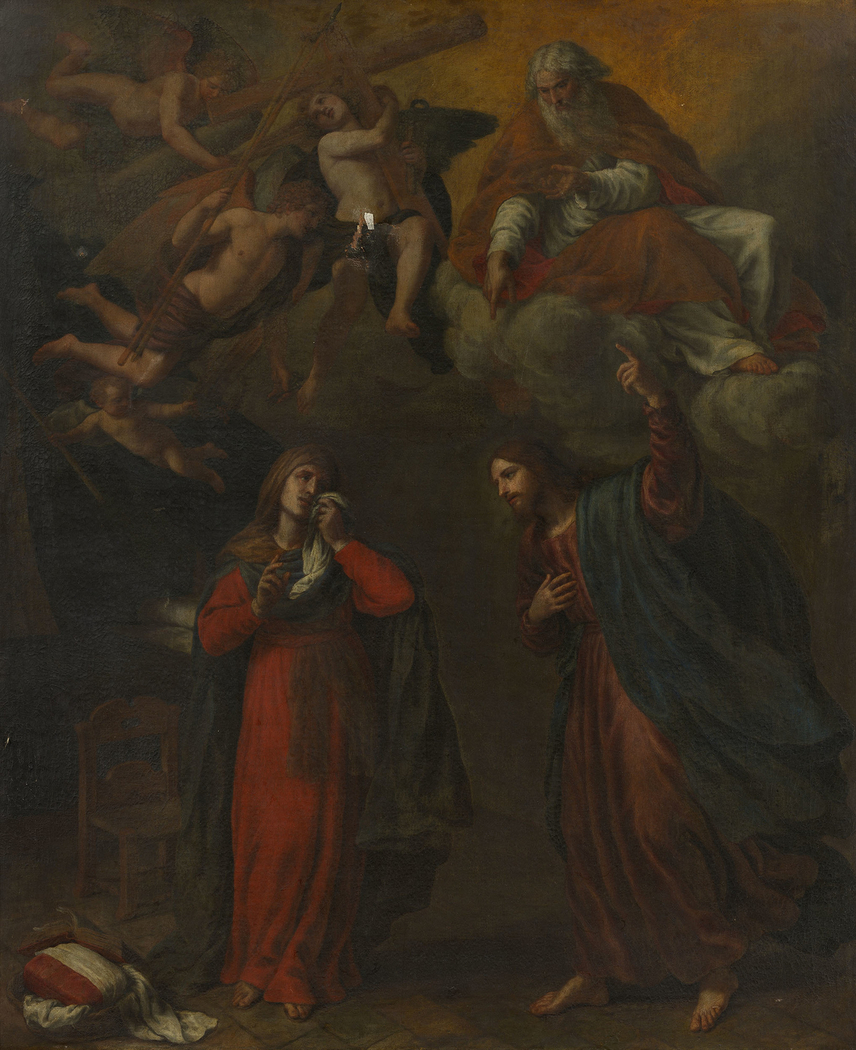 Christ Taking Leave of his Mother and Foretelling his Passion