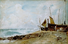 Coast Scene Near Brighton