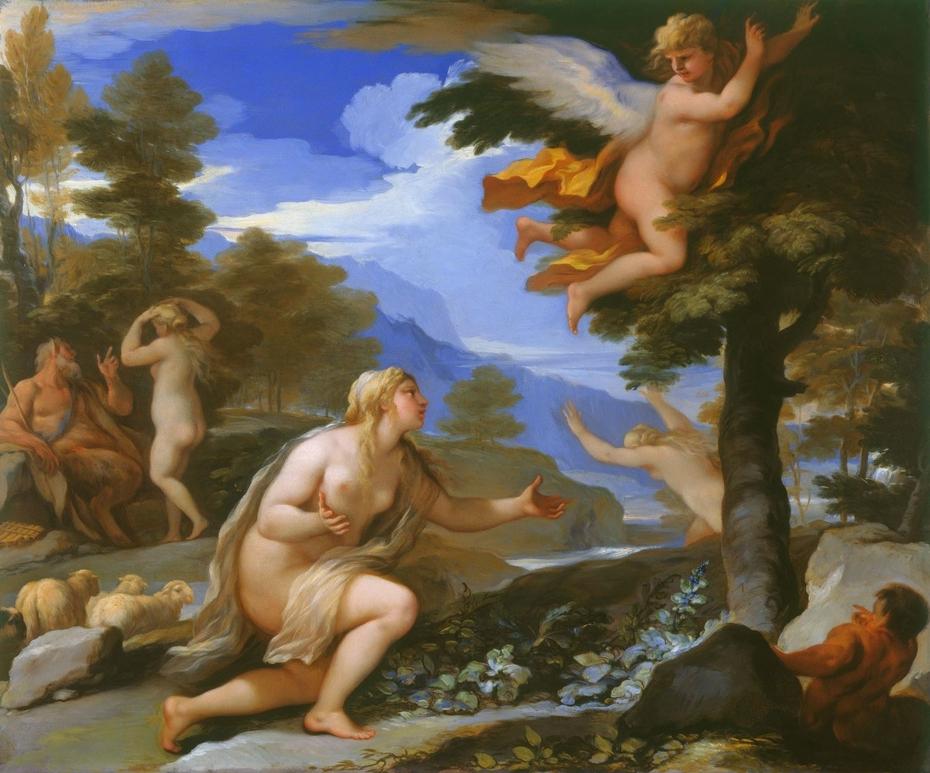Cupid Abandoning Psyche